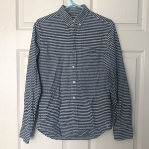 Stripped American Eagle Outfitters Button Up